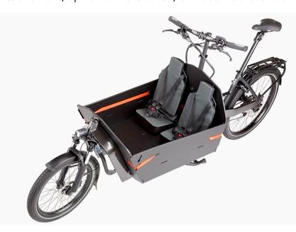 Die Bürger-Rikscha kann auch Lastenrad